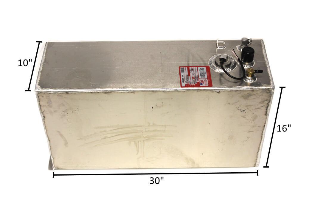 20 Gallon Aluminum Fuel Tank With Sending Unit 10 Quot X 16 Quot X