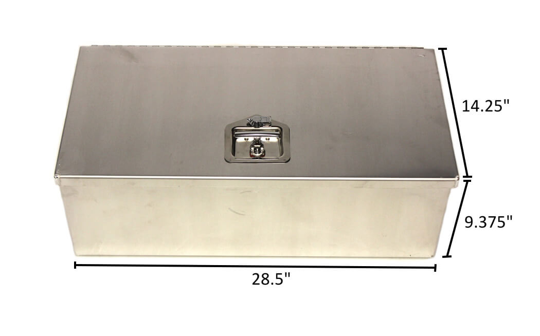 Dual Battery Box With Latch Jazz Sales