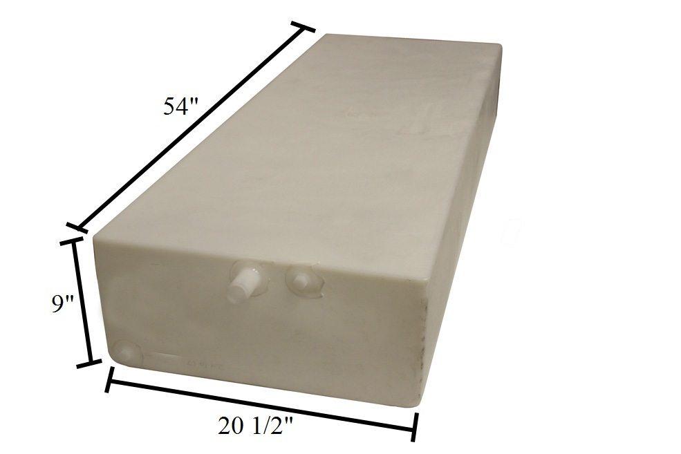 water tank 20 5 w x 54 l x 9 h 39 gallon model w0199. Black Bedroom Furniture Sets. Home Design Ideas