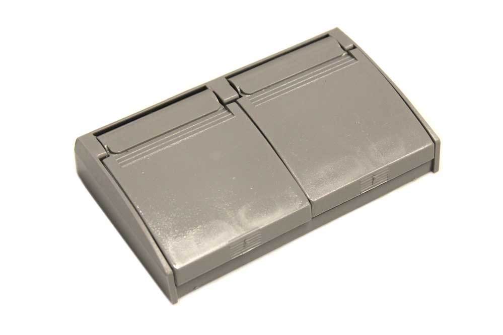 Weatherproof Outlet Cover Grey Jazz Sales
