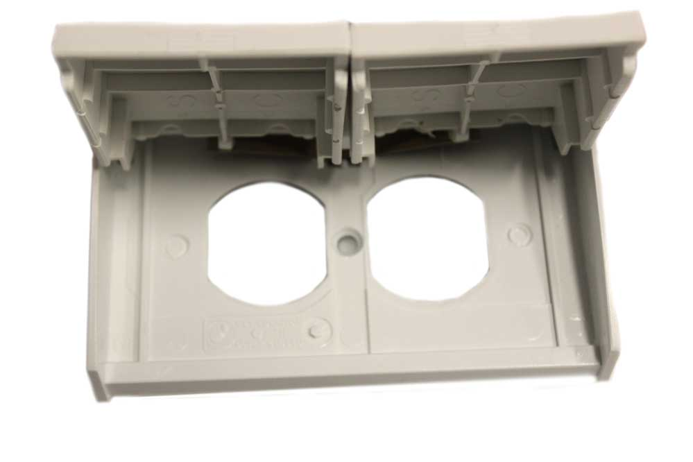 Weatherproof Outlet Cover - White - Jazz Sales