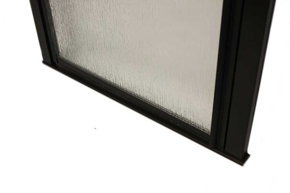 "24"" X 65"" Pivot Shower Door With Obscured Glass"