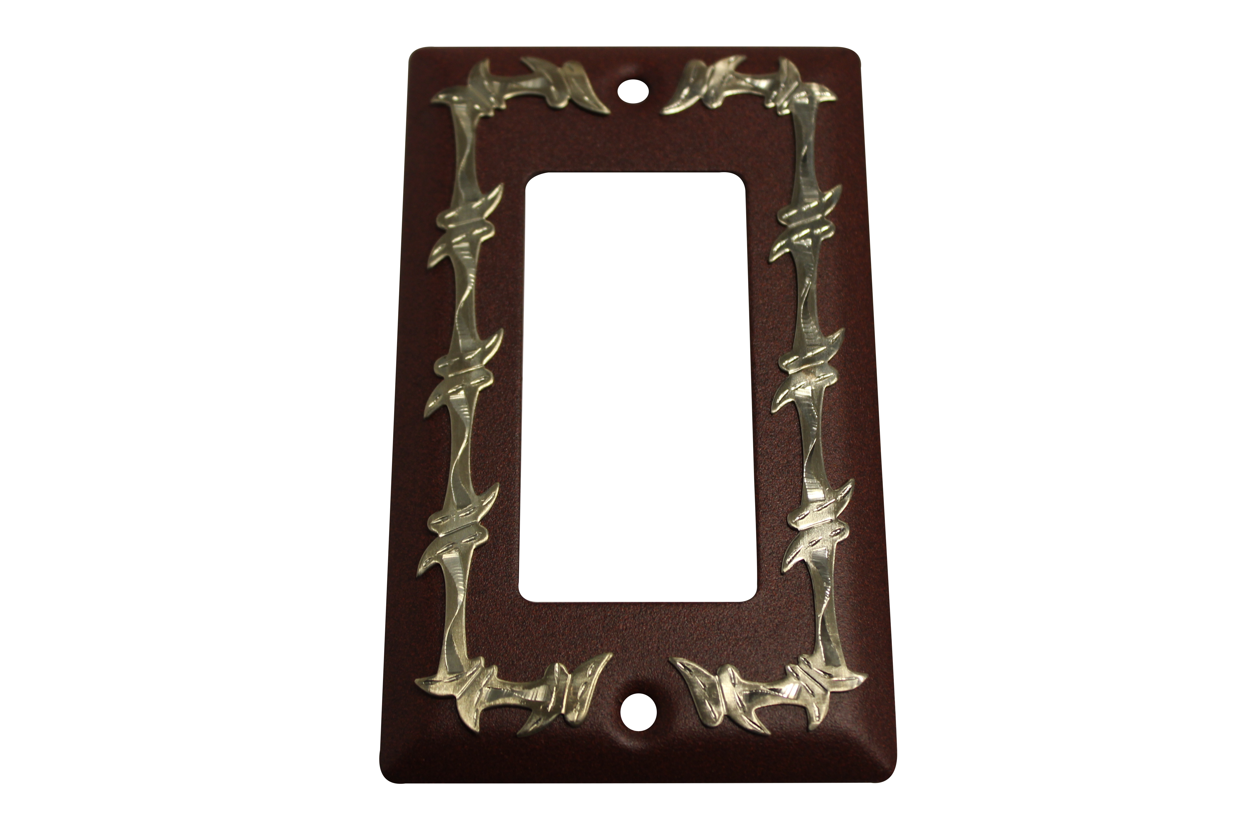 Barbed Wire Rocker Switch Plate Cover - Antique - Jazz Sales