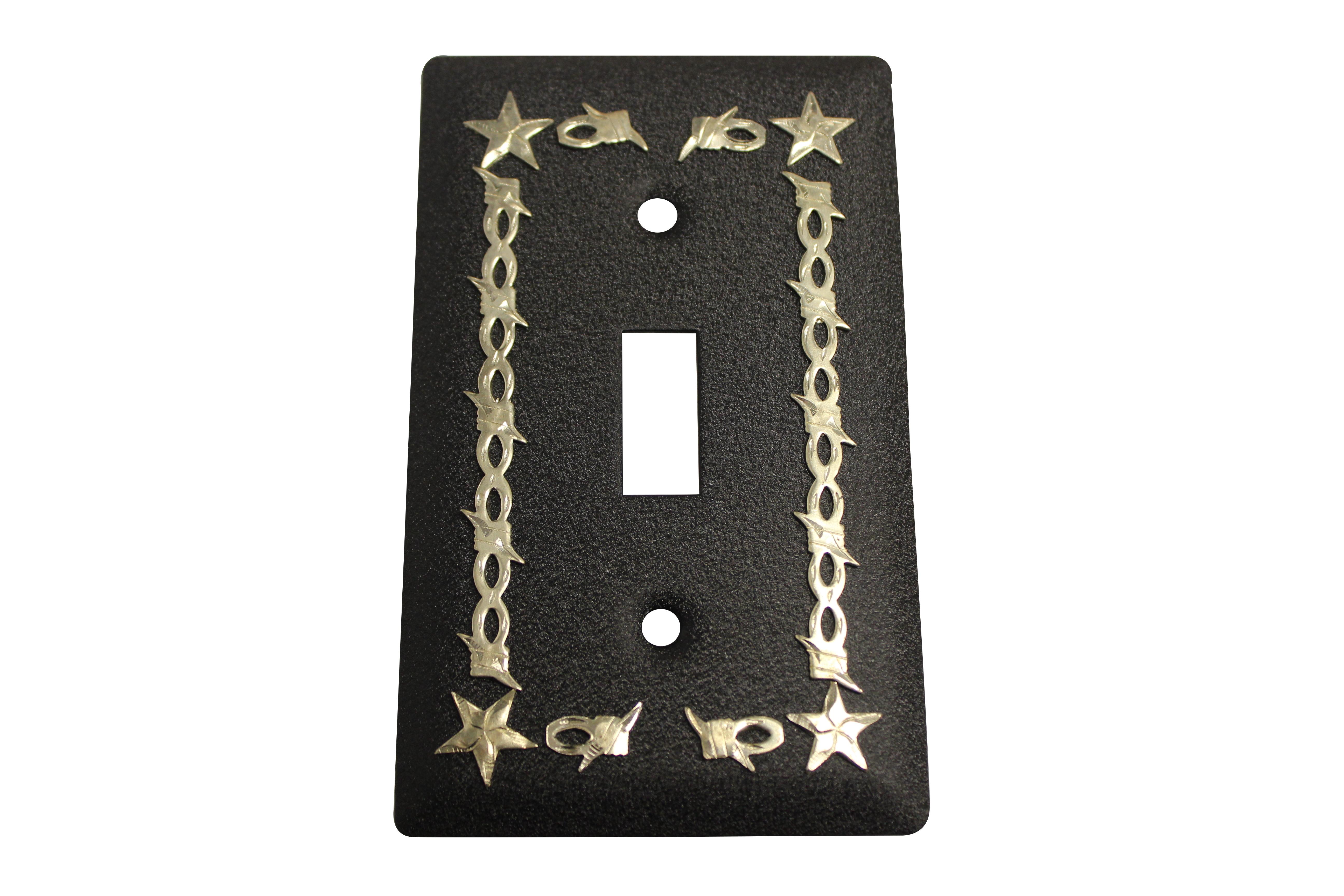 Light Switch Star & Wire - Black - Jazz Sales