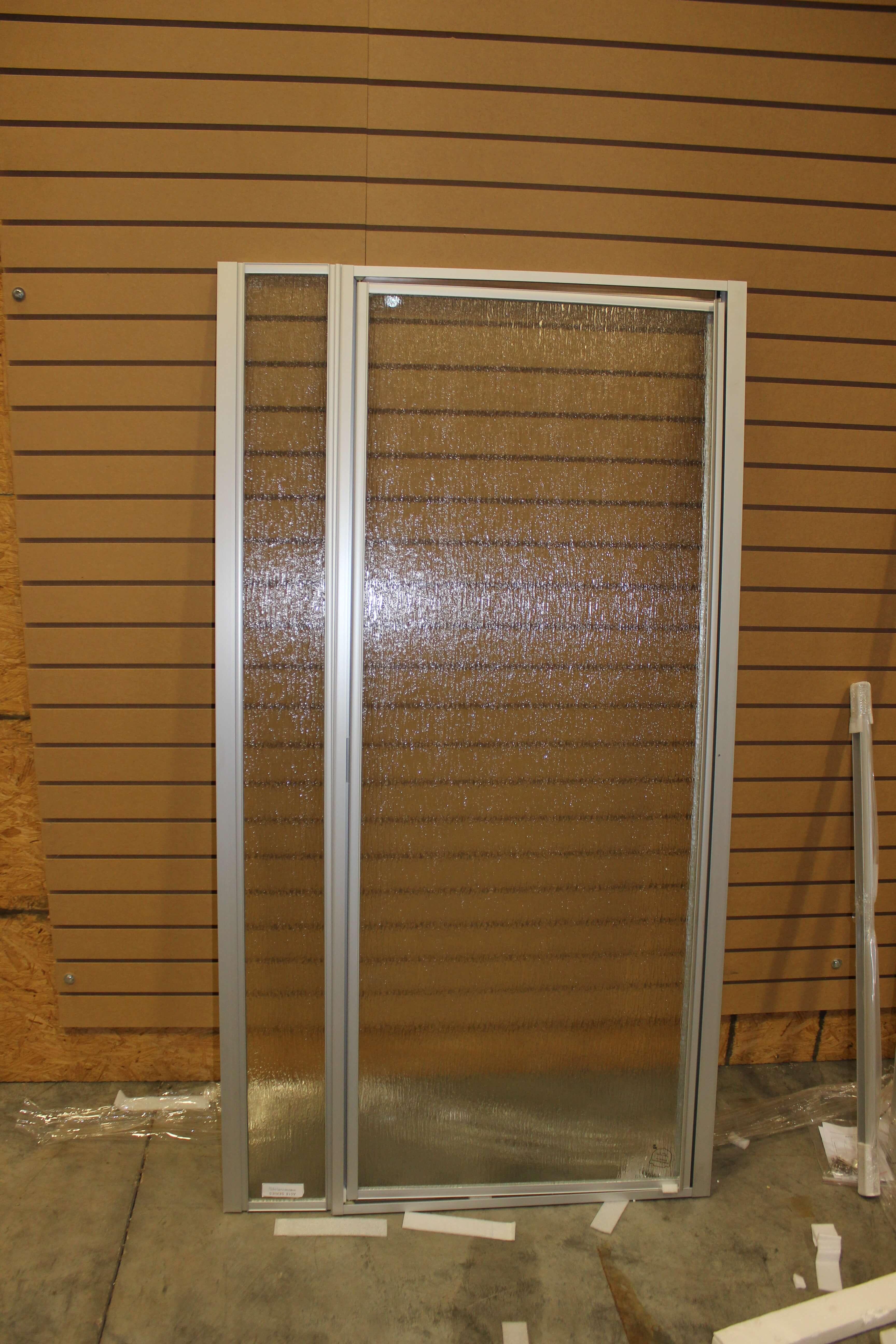 36 Quot X 62 Quot Retractable Shower Door White Jazz Sales