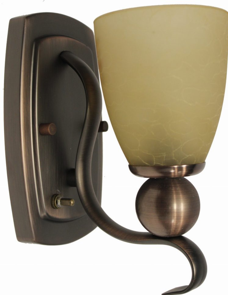 Willow Series Pin Up Light - Oil Rubbed Bronze - Jazz Sales