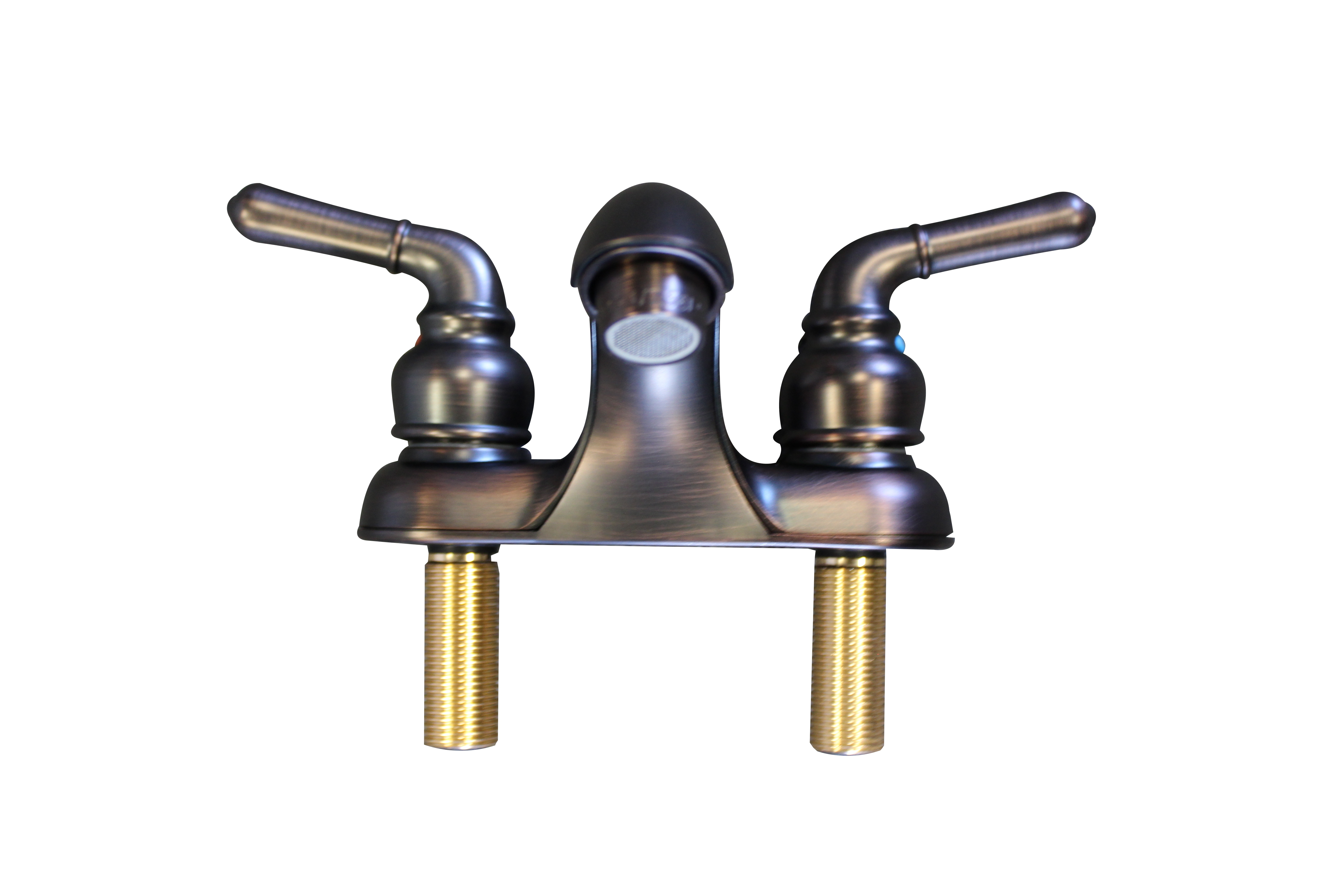 Utopia two handle bathroom faucet oil rubbed bronze